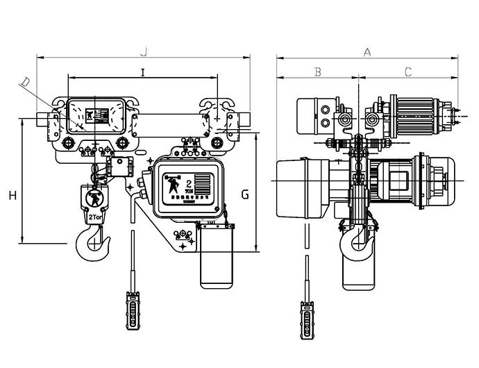 5 ton chain fall hoist  diagrams  wiring diagram images